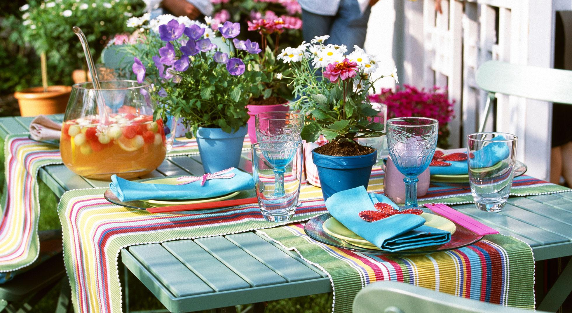 Decorazioni per la tavola 5 idee aia food - Tavola da pranzo ...