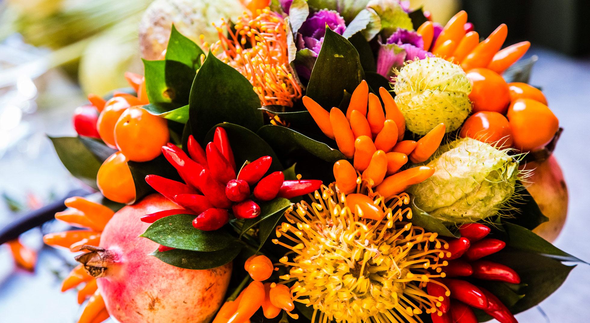 Come decorare la tavola con la frutta 5 idee da copiare - Decorazioni con frutta essiccata ...