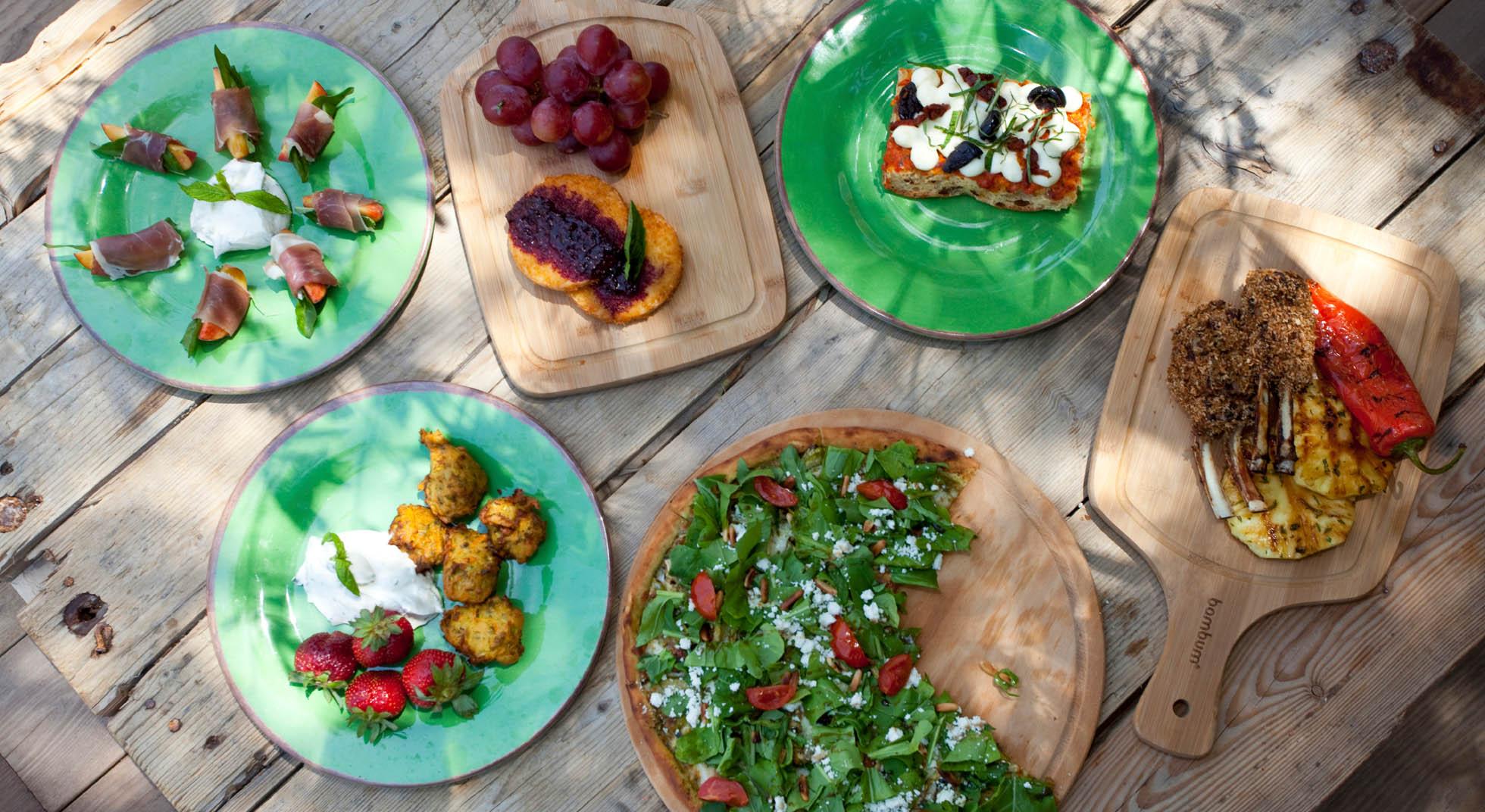 Idee per l 39 aperitivo in giardino aia food for Organizzare giardino