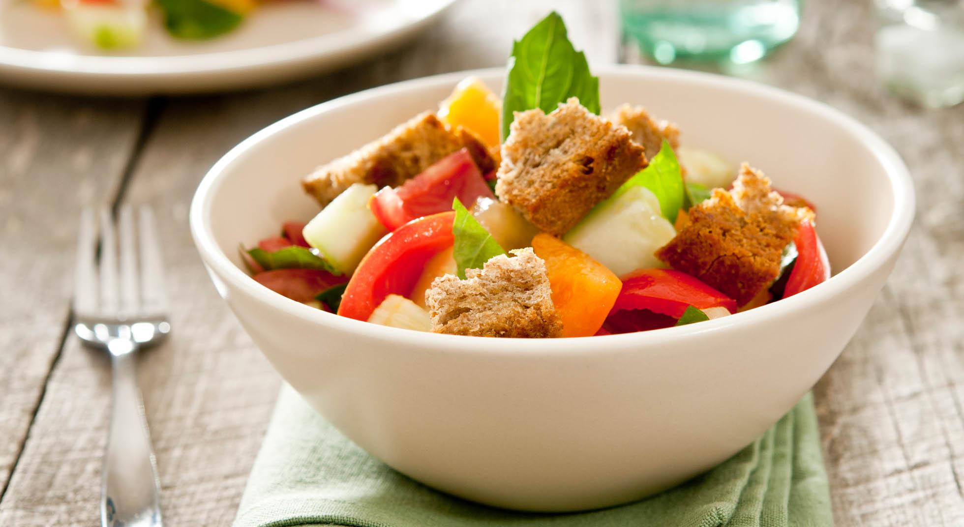 Panzanella 3 ricette sfiziose e leggere aia food for Ricette leggere
