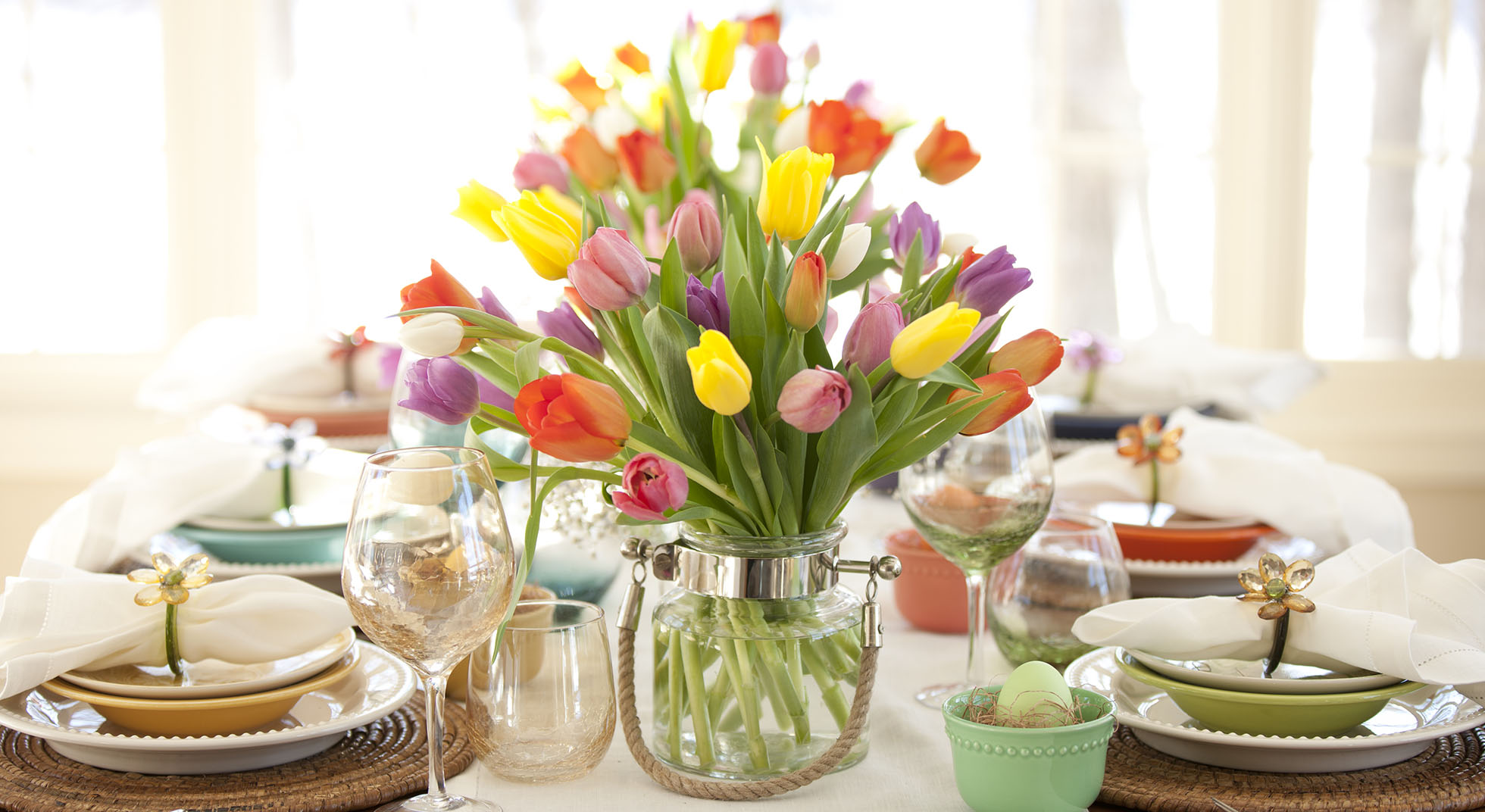 Tavola di primavera idee idee per la casa - Tavola di primavera idee ...