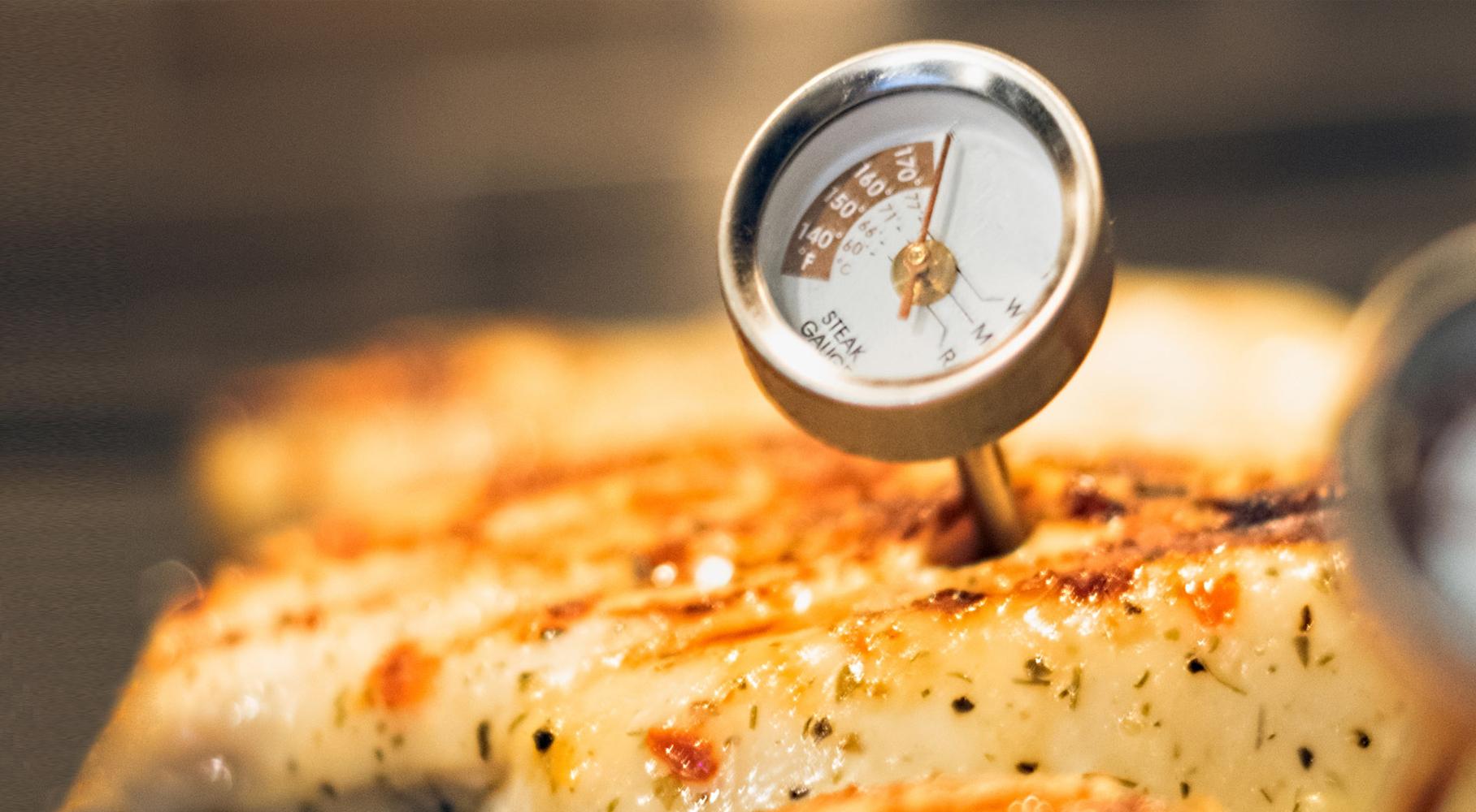 Come usare il termometro da cucina