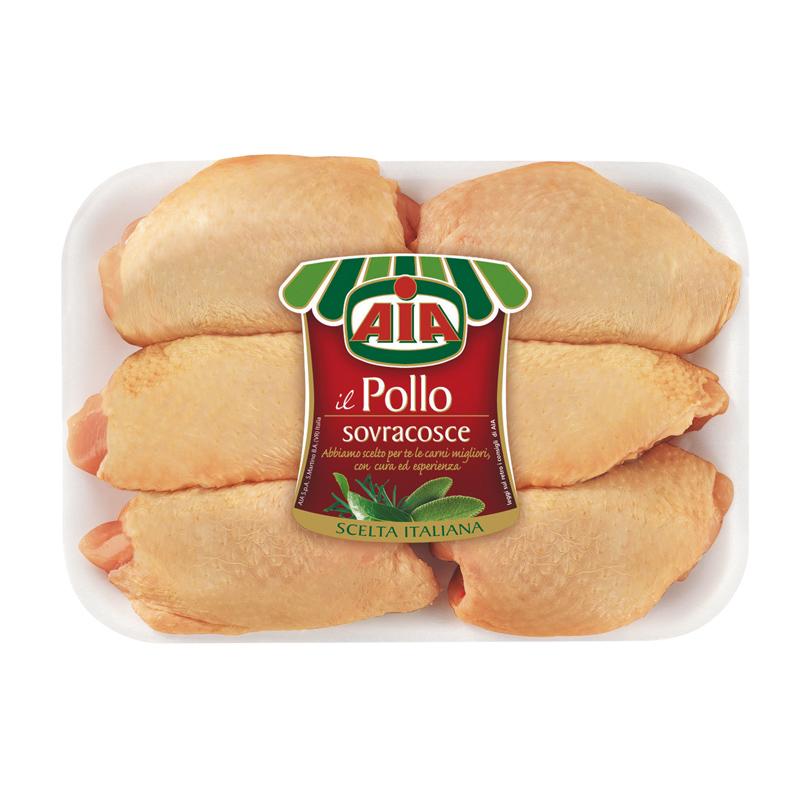Sovracosce di pollo aia aia food - Come cucinare le cosce di pollo in padella ...