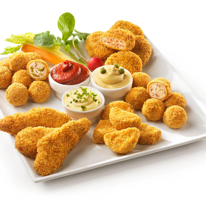 Aperitivo snack con salsine e verdure croccanti aia food for Aperitivo ricette