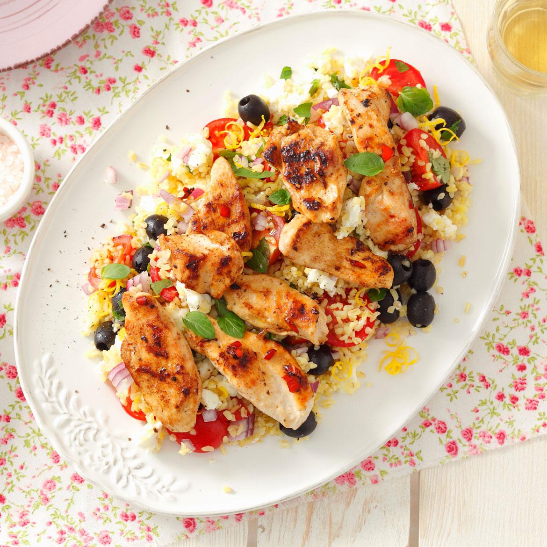 Insalata di riso con pollo e verdure la ricetta facile for Ricette di riso