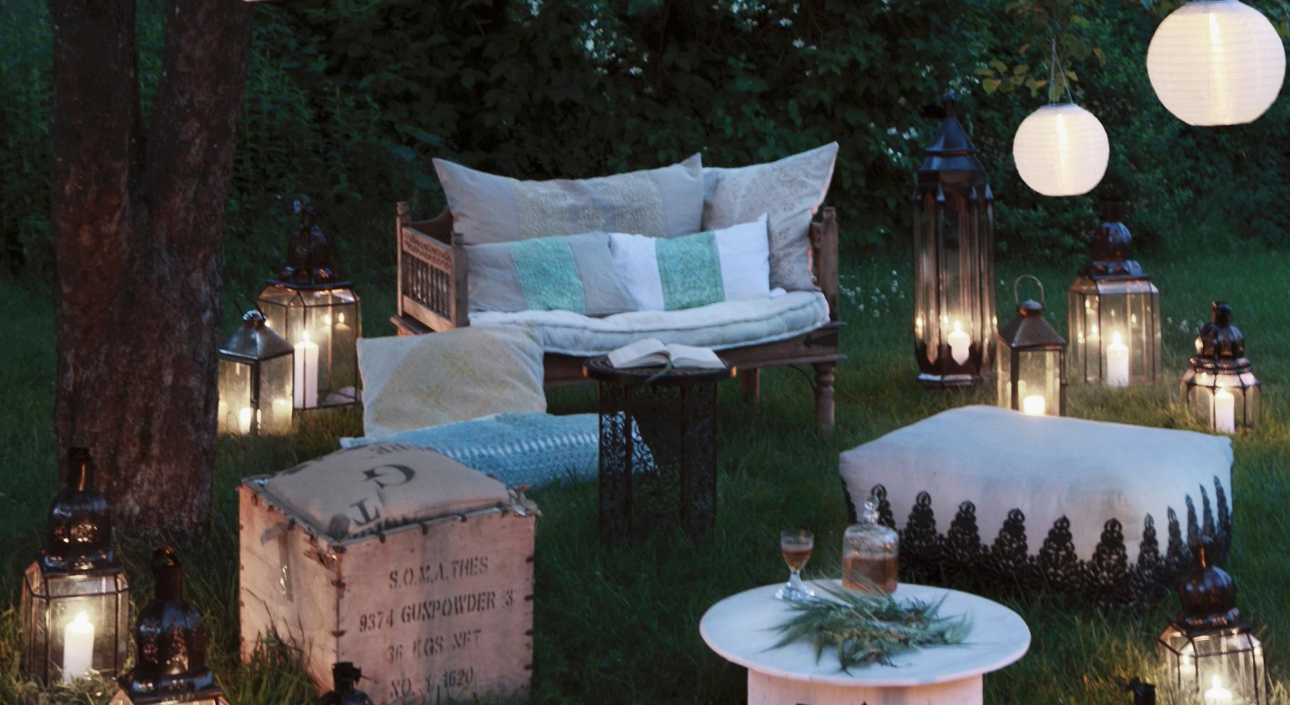 Idee Per Illuminare Un Giardino 5 trucchi per la festa in giardino | aia food