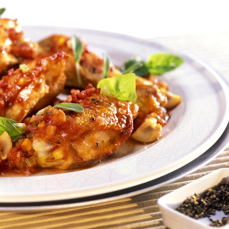 Sovracosce Di Pollo Al Pomodoro Con Salvia E Basilico Aia Food