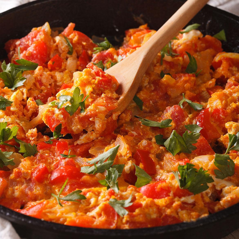 Ricetta Uova Con Pomodoro.Uova Strapazzate Al Pomodoro Aia Food